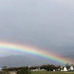 虹を見るたびに、ちょっと切ない思い出が・・・🌈
